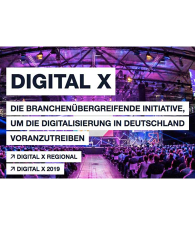 Digital X - Europas führende Digitalisierungsinitiative