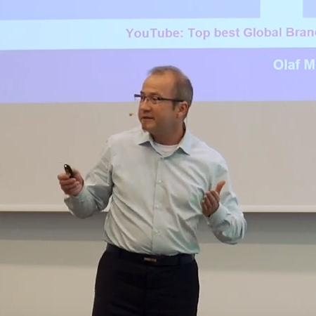 Olaf Mörk auf der B2B Online Marketing Conference
