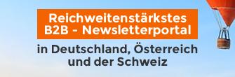Reichweitenstärkstes B2B Newsletterportal