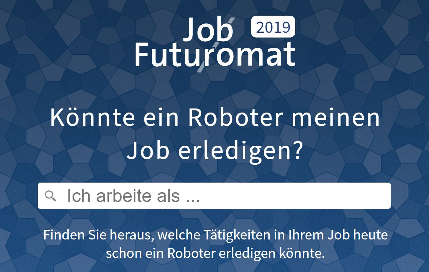 Job Futuromat