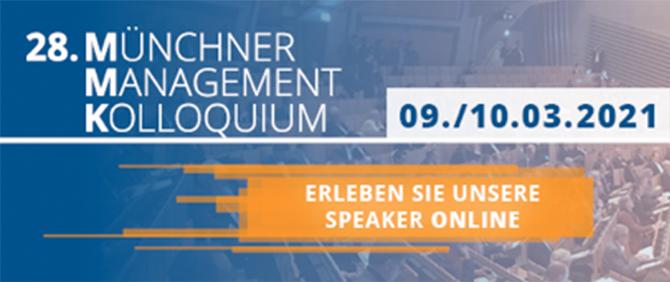 28. Münchner Management Kolloquium